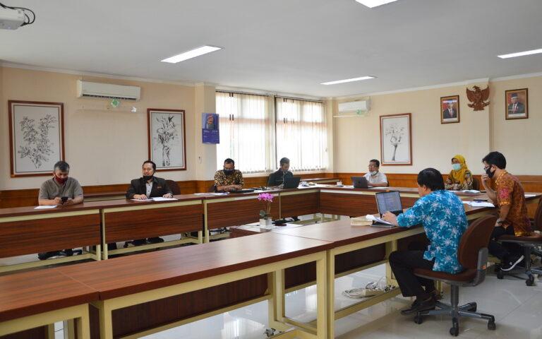 Inisiasi kerja sama dengan Universitas Kristen Maranatha